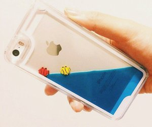 iphone and fish image