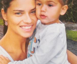 Adriana Lima, beauty, and family image
