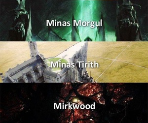 LOTR, the hobbit, and the lord of the rings image