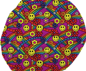 funky, hippie, and pattern image