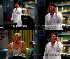 amy, the big bang theory, and besties image
