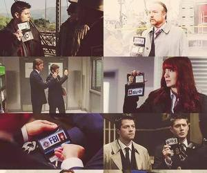 fbi, supernatural, and winchesters image