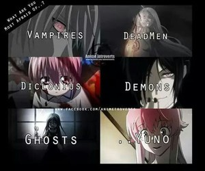 anime, black butler, and elfen lied image