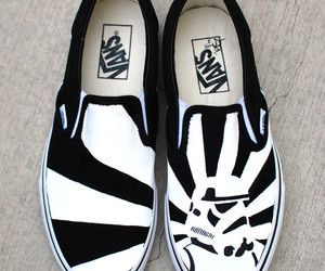 custom shoes, hand painted shoes, and painted sneakers image