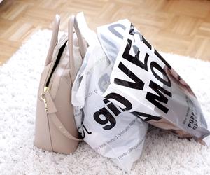 bag, fashion, and shopping image