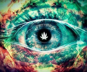 happiness and weed image