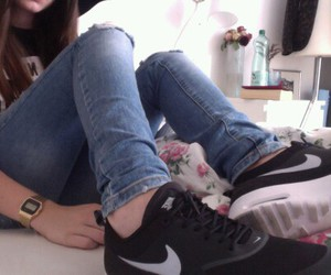 nike, girl, and pale image