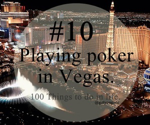 poker, 10, and vegas image