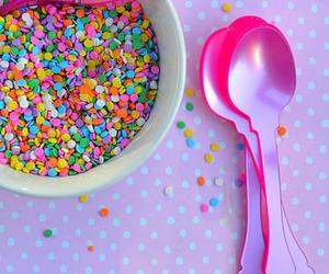 food and sprinkles image