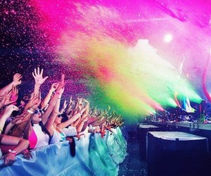 party, rave, and life image