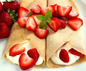 pancake and sweet image