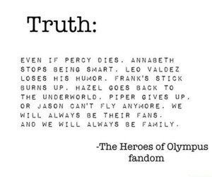 pj, percy jackson, and heroes of olympus image