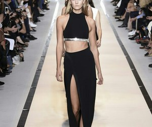 girl, spring 2015, and Versace image