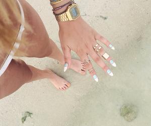 american apparel, beach, and bikini image