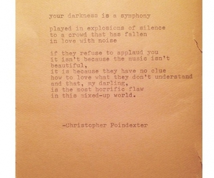 poem, writing, and christopher poindexter image