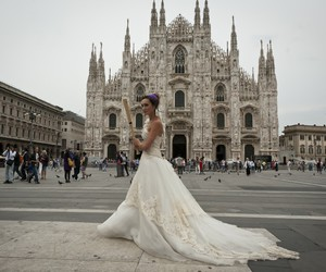 boda, Couture, and dress image