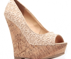 wedge shoes, platform wedges, and cork wedges image
