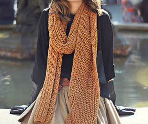fashion, style, and scarf image