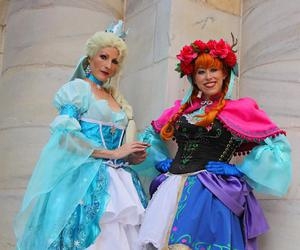 cosplay, disney, and frozen image