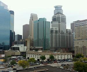 downtown, minnesota, and skyline image