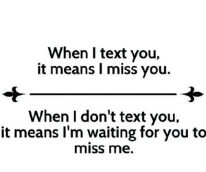 miss, text, and texting image