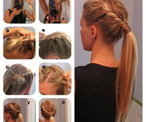 diy, hair tutorial, and hair image