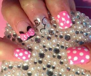 bling, disney, and minnie mouse image
