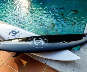 chanel, summer, and surf image