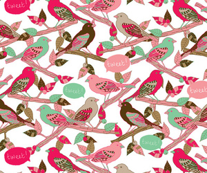 bird and pattern image