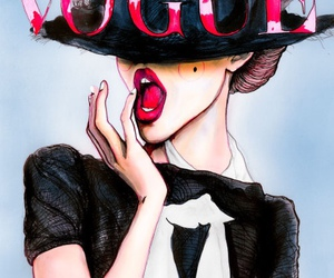 cover, fashion, and it girl image