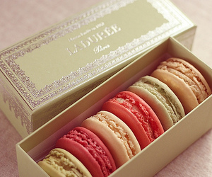 beautiful, delicious, and macarons image