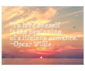 ocean, sunset, and oscar wilde image