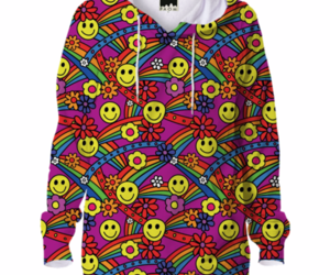 funky, hoodie, and hippie image