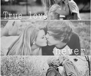 love, true love, and kiss image