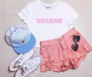 fashion, converse, and look image