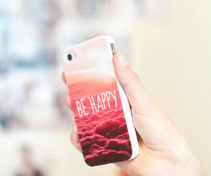 iphone, happy, and be happy image
