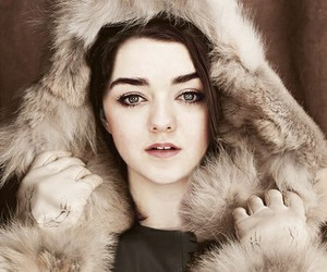 game of thrones, maisie williams, and arya stark image