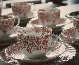 cup, vintage, and teacup image