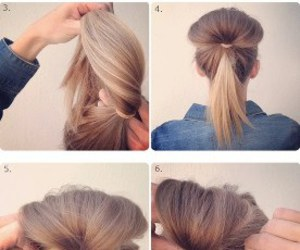 beauty, hairstyle, and tutorial image