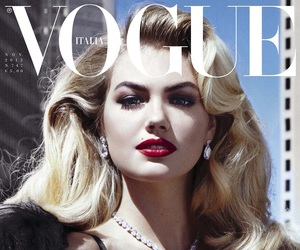 vogue, kate upton, and model image