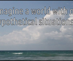 cannot, hypothetical, and situations image