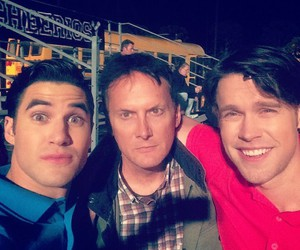darren criss, blam, and overcriss image