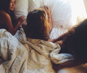 beautiful, hipster, and sleepover image