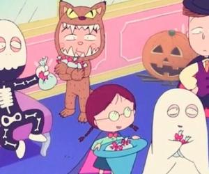 anime, Halloween, and chibimaruko image