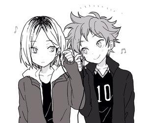 anime, kawaii, and hinata shoyo image