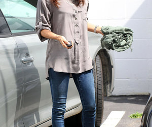 eva longoria, outfit, and jeans image