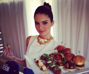 food, kendall jenner, and hair image