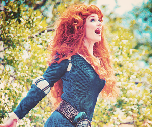 brave, cosplay, and disney image