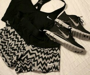 clothes, nike, and shoes image