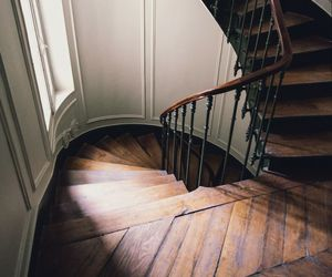 stairs, interior, and house image